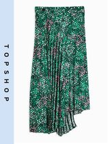 TOPSHOP Casual Style Pleated Skirts Skirts