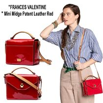 FRANCIS VALENTINE Street Style Leather Shoulder Bags