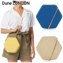 Dune LONDON Casual Style Blended Fabrics Chain Plain Shoulder Bags
