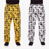 OBEY Printed Pants Street Style Cotton Patterned Pants