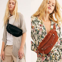 Free People Suede Plain Hip Packs