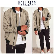 Hollister Co. Street Style MA-1 Bomber Jackets