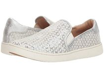 UGG Australia Rubber Sole Casual Style Plain Leather Glitter Slip-On Shoes