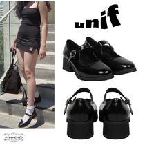 UNIF Clothing Plain Ballet Shoes