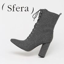 Sfera Plain Toe Plain Ankle & Booties Boots