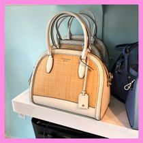 kate spade new york 2WAY Straw Bags