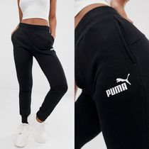 PUMA Casual Style Sweat Street Style Plain Long Sweatpants