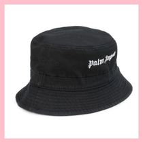 Palm Angels Street Style Bucket Hats Wide-brimmed Hats