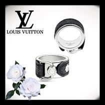 Louis Vuitton MONOGRAM Monogram Unisex Street Style Leather Rings