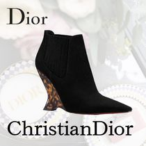 Christian Dior Star Suede Wedge Boots