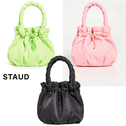 Nylon Plain Purses Handbags