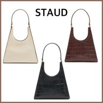 STAUD Other Animal Patterns Leather Shoulder Bags