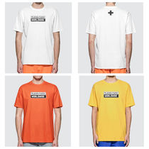 PLACES+FACES Crew Neck Street Style Cotton Short Sleeves