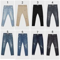ZARA Street Style Cotton Skinny Fit Jeans & Denim
