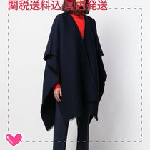 VALENTINO Wool Plain Ponchos & Capes