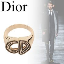 Christian Dior Blended Fabrics Street Style Rings
