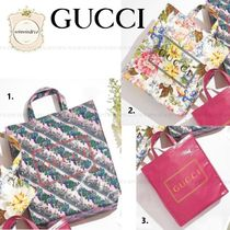 GUCCI Casual Style A4 Totes