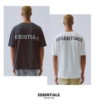 FEAR OF GOD ESSENTIALS Street Style Plain Short Sleeves V-Neck T-Shirts