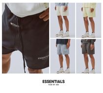 FEAR OF GOD ESSENTIALS Street Style Plain Cotton Shorts