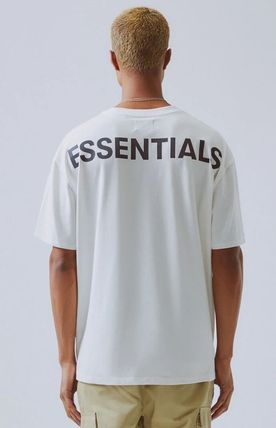 FEAR OF GOD More T-Shirts Unisex Street Style Plain Short Sleeves T-Shirts 3