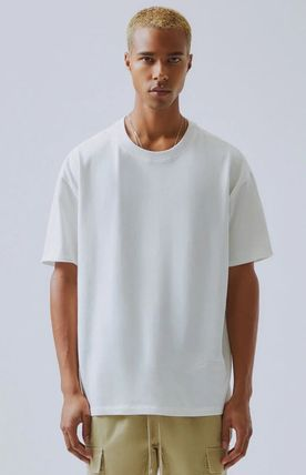 FEAR OF GOD More T-Shirts Unisex Street Style Plain Short Sleeves T-Shirts 4