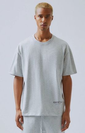FEAR OF GOD More T-Shirts Unisex Street Style Plain Short Sleeves T-Shirts 9