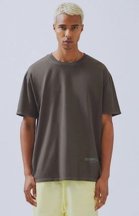 FEAR OF GOD More T-Shirts Unisex Street Style Plain Short Sleeves T-Shirts 15