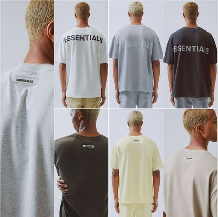 FEAR OF GOD More T-Shirts Unisex Street Style Plain Short Sleeves T-Shirts