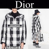 Christian Dior Other Plaid Patterns Casual Style Street Style Long
