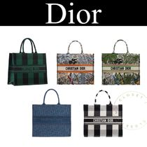 Christian Dior Other Check Patterns Casual Style Canvas Street Style A4