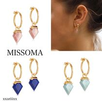 MISSOMA Casual Style 18K Gold Earrings