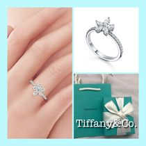 Tiffany & Co TIFFANY INFINITY Platinum Elegant Style Rings