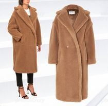 MaxMara Plain Long Elegant Style Coats