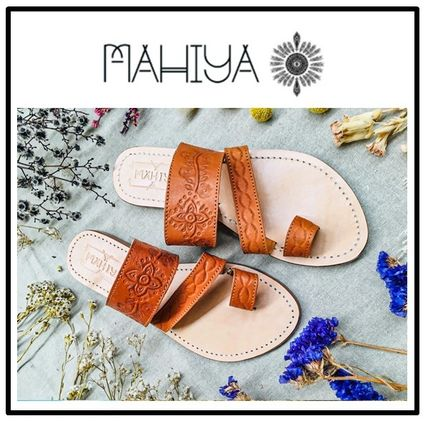 Open Toe Casual Style Handmade Sandals