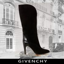 GIVENCHY Plain Elegant Style Ankle & Booties Boots
