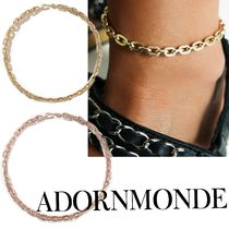 ADORNMONDE Handmade Silver Anklets