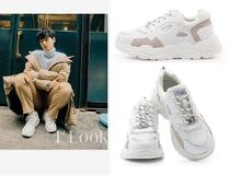 BMS FRANCE Street Style Plain Home Party Ideas Sneakers