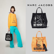 MARC JACOBS THE TAG TOTE Street Style Collaboration 2WAY Totes
