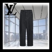 Louis Vuitton Wool Plain Jeans & Denim