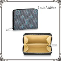 Louis Vuitton ZIPPY COIN PURSE Monogram Unisex Calfskin Street Style Coin Cases