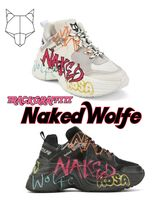 Naked Wolfe Casual Style Unisex Low-Top Sneakers