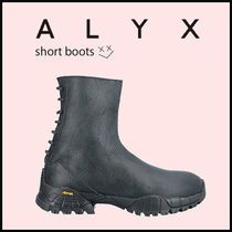 ALYX Round Toe Rubber Sole Casual Style Leather Chelsea Boots