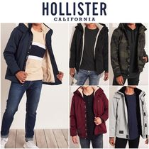 Hollister Co. Street Style Plain MA-1 Jackets