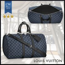 Louis Vuitton DAMIER COBALT Street Style Carry-on Luggage & Travel Bags