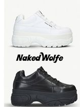 Naked Wolfe Plain Leather Sneakers