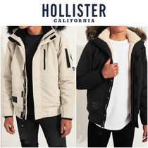 Hollister Co. Street Style Plain MA-1 Bomber Jackets