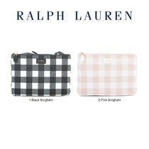 POLO RALPH LAUREN Gingham Casual Style Shoulder Bags