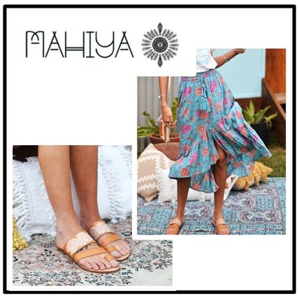 Casual Style Street Style Handmade Sandals