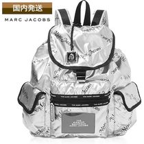 MARC JACOBS Casual Style Nylon Street Style Collaboration Backpacks