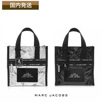 MARC JACOBS THE MARC JACOBS Casual Style Street Style Collaboration Leather Totes